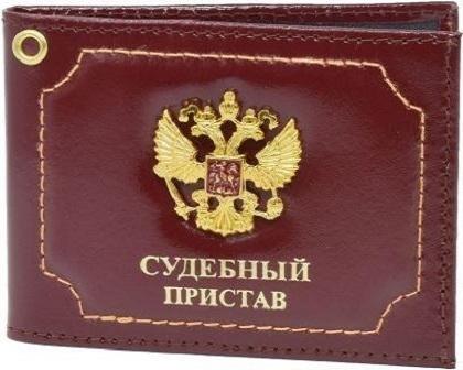 oblozhka-dlya-udostovereniya-sudebnyj-pristav-s-metal-gerbom-bordo